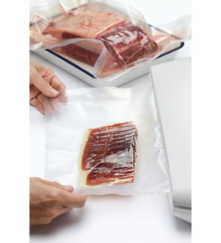 Embossed vacuum sealer bags/pouches 150x400mm (15x40cm)