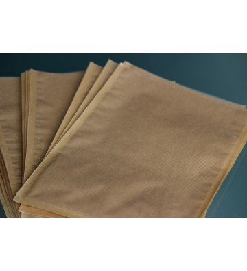 Kraft backed vacuum bags/pouches, 120x300mm