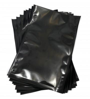 Sacos de vácuo Preto e trasparente 200x300mm (20x30cm)