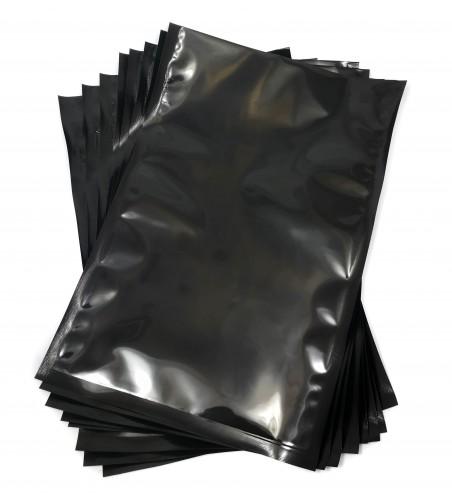 Bolsas de Vacío transparente/negro de 200x300mm
