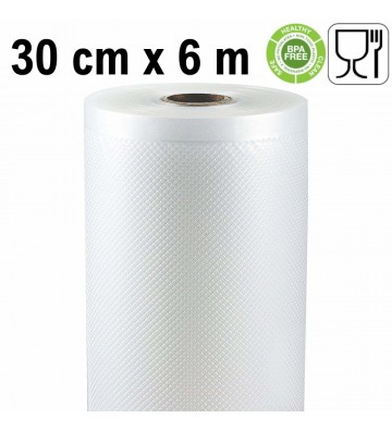 Vacuum bag/pouch cooking rolls, 30cm/6m