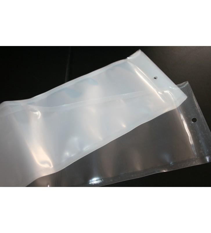 Bolsas de Vacío de 130 micras 140x600mm (Con ojal)