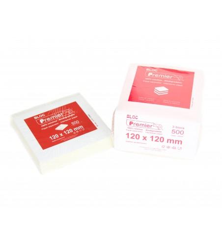 Interleaved deli plastic film/sheets 120x120mm (12x12cm) (Biodegradable)