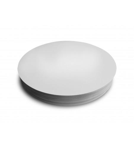 White Deli Meat/Fish Backing Boards/Discs, 24cm