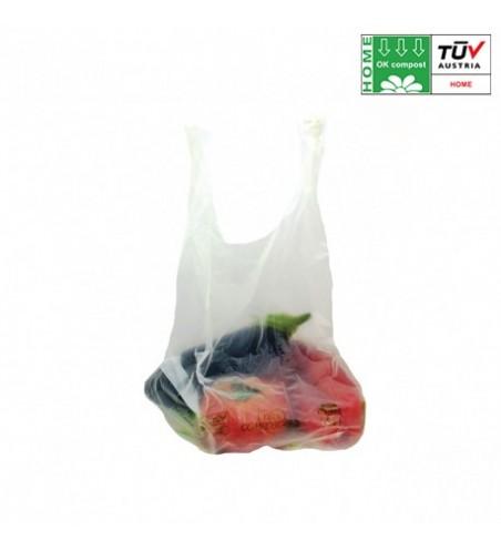 Bolsa Biodegradable Camiseta 350x500mm.