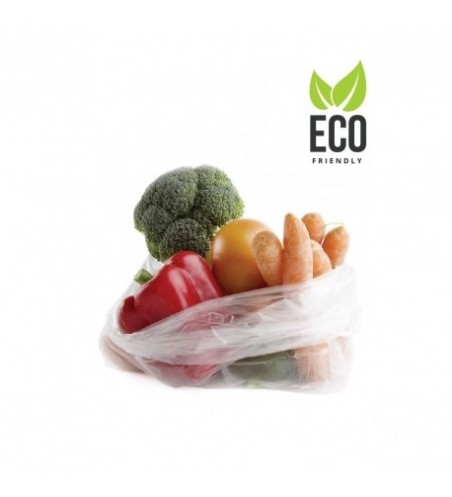 Saco biodegradável sem alças - BioBag Premier 350x450mm. (35x45cm.) Rolo de 250 unidades.