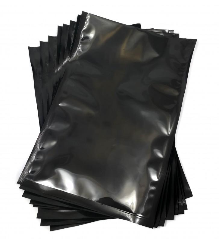 Black backed vacuum pouches 200x300mm (20x30cm)
