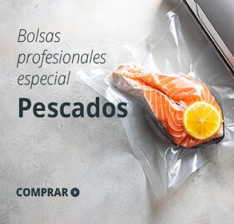 bolsas de vacío para pescados
